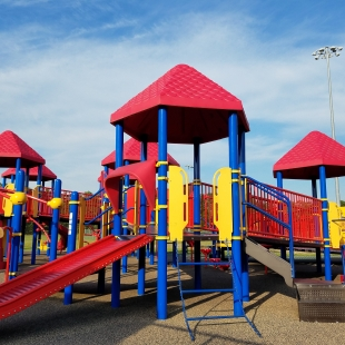 Playground equipment for Tribute Park